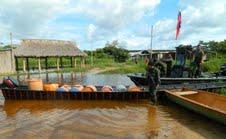 Operativo fluvial a toda vida Venezuela en en municipio Monagas 1