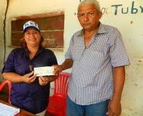 Gobierno de Calle entrega de Transferencia CC Valle Hondo 1