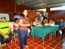 Reunión con las UBHCH de Zuata 1